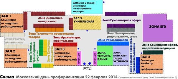 Подробная схема мероприятия: