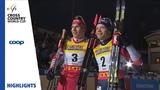 Норвежский лыжник Йоханнес Клебо проиграл на последних метрах спринтерской гонки россиянину Александру Большунову на этапе Кубка мира в финской Руке.