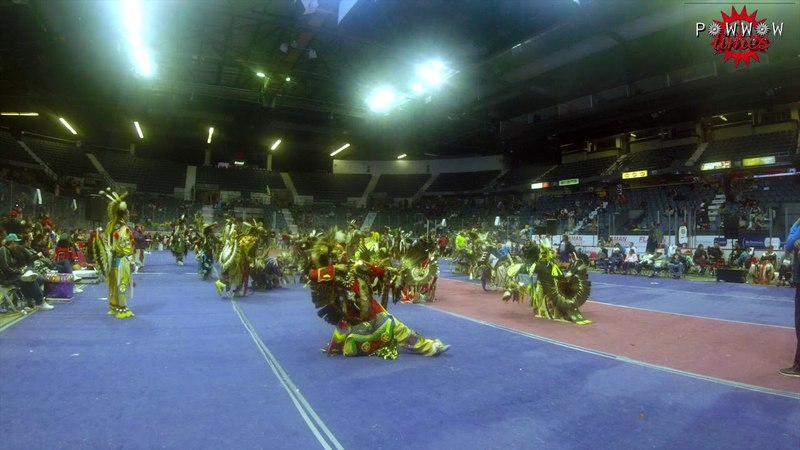 Jr Mens Traditional Finals @ Regina Powwow 2018
