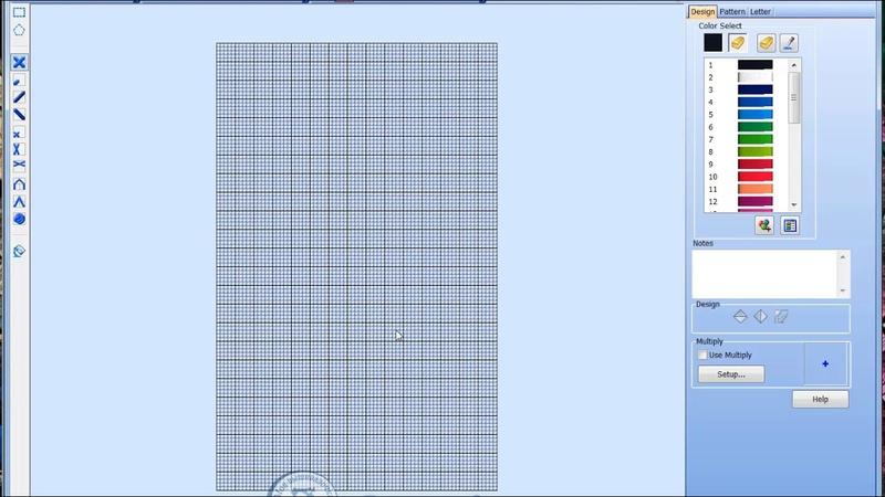 Урок 15. Интерфейс программы 4D(5D) Cross Stitcher