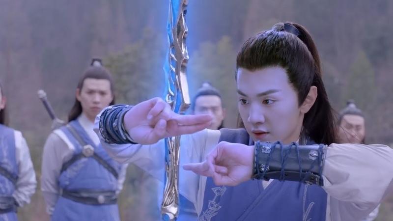 師傅測試弟子們的劍術,大弟子御劍流光,直接一劍破陣,太強了