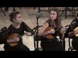 То не ветер ветку клонит - УНИСОН ДОМРИСТОВ Unison of domrists plays Russian Folk Song theme
