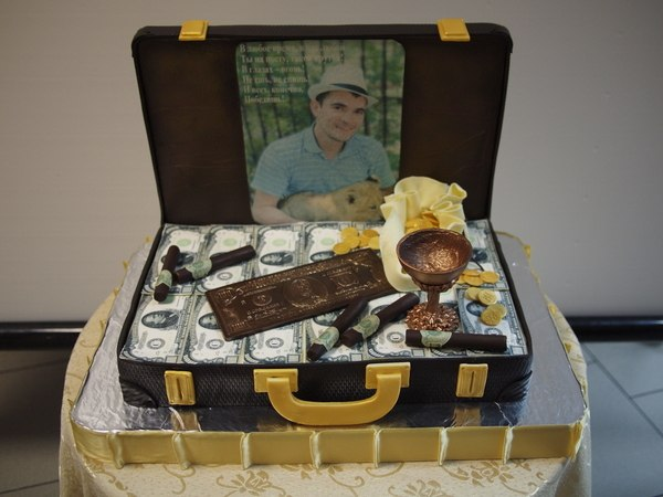 Торт на 30 лет мужу - 4f