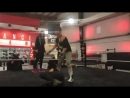 Тренировка Ронды Роузи перед дебютом в WWE