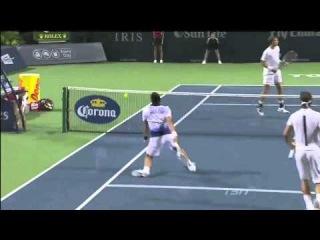 Nadal/Djokovic vs Pospisil/Raonic - HD highlights