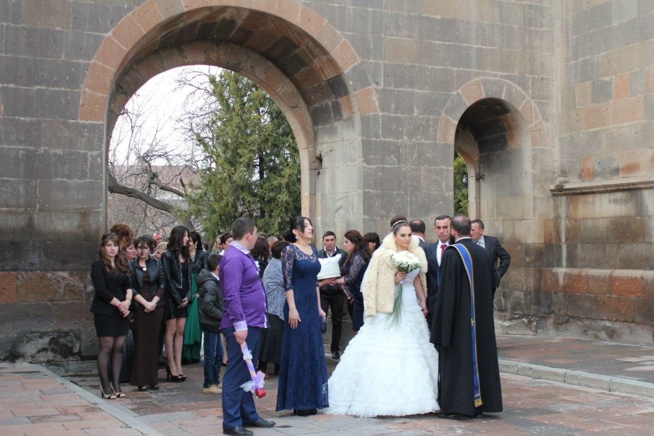 свадьба эчмиадзин
