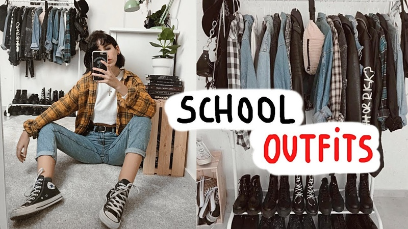 20 SCHOOL OUTFITS FOR FALL ⏰