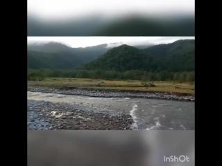 Поездка на УРАЛах по горно-лесной дороге и руслу реки Шахе