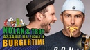Nolan North and Troy Baker Assault Mr. Pickle in BurgerTime