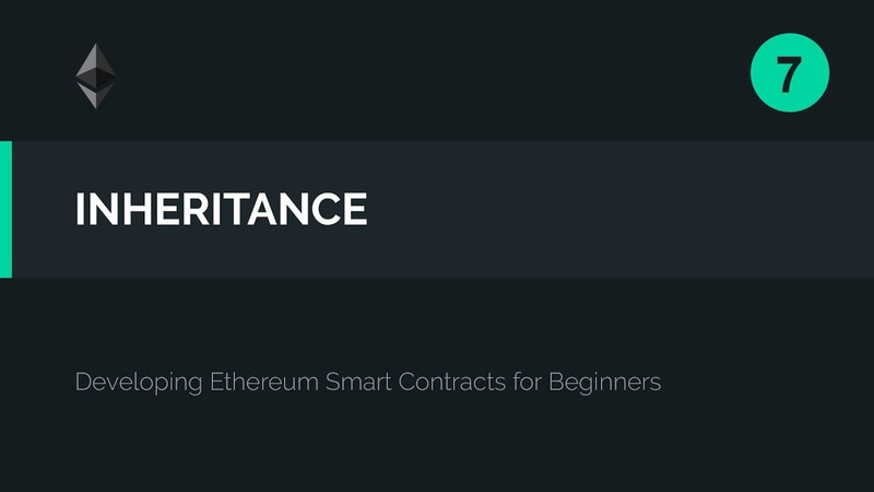 07 Solidity Inheritance Tutorial Deploying the Contract