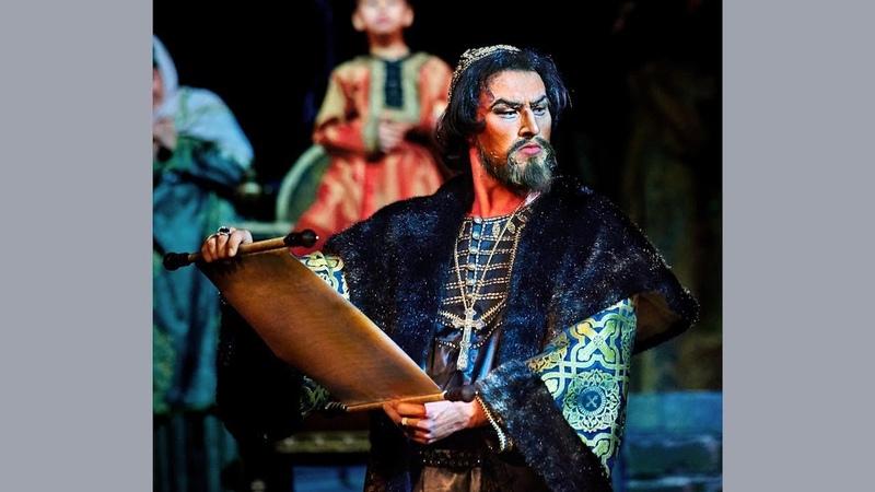 Наш земляк Ярамир Низамутдинов исполнил главную партию Ивана Грозного в Казанском оперном театре