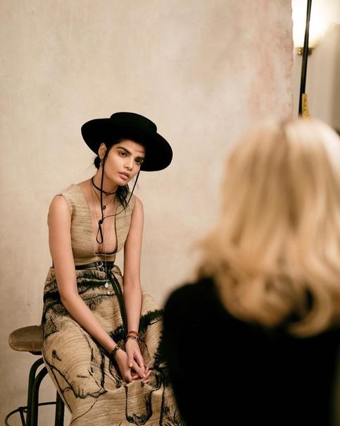 Bhumika Arora на съёмках для Harper's Bazaar Kazakhstan — 2018.