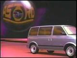 1985 Chevrolet Astro Van Commercial