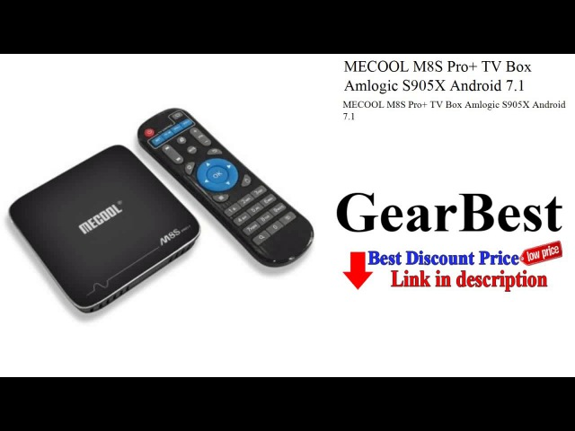 MECOOL M8S Pro TV Box Amlogic S905X Android 7.1 | Gearbest review