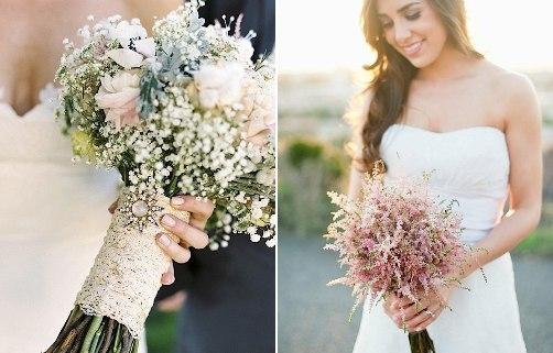 """Букеты в стиле  """"прованс """" очень подойдут невестам, которые предпочитают романтику, воздушность и легкость образа."""