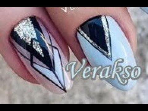 3 Easy Nail Art Tutorials Verakso 18 | BeautyIdeas Nail Art