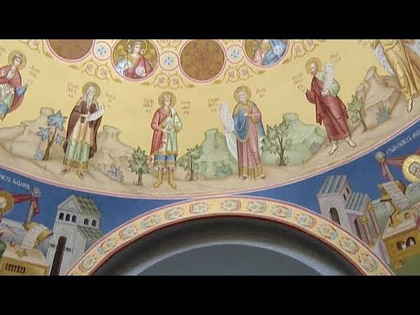 Роспись Свято-Вознесенского кафедрального собора завершается в Геленджике