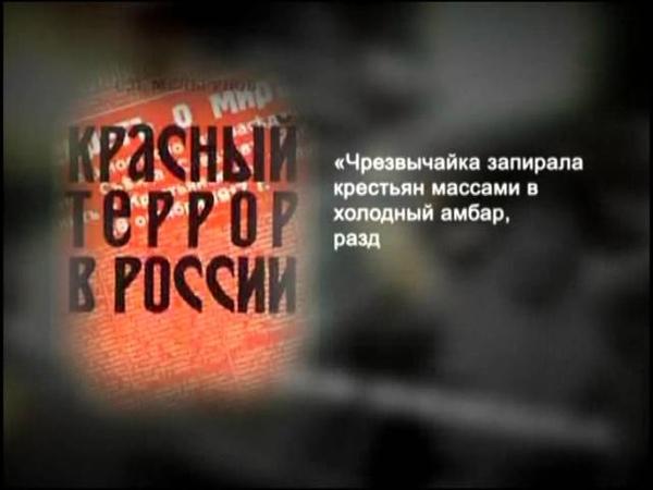 039. История России. ХХ век. Ленин. Кровью и голодом!