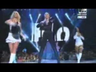 Klara, Lady Gaga, Britney Spears - Kvas Is Not Cola, Dumb Is Back (Live @ VMA 2013)