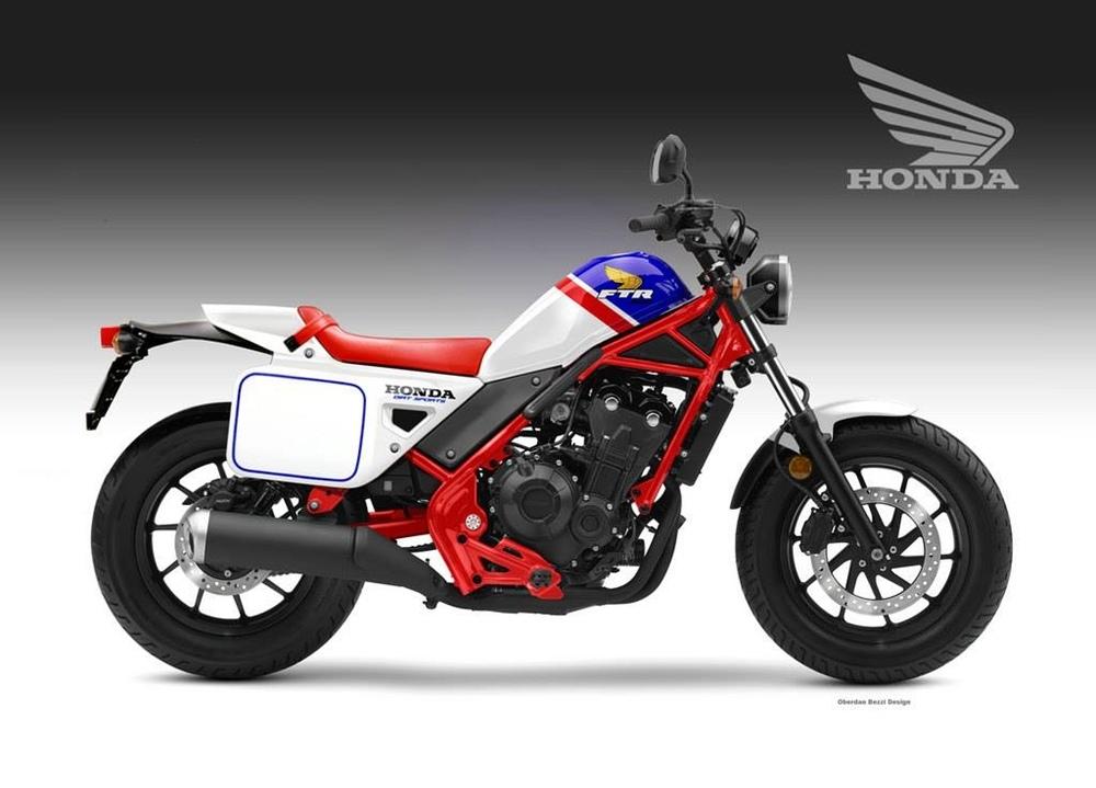 Обердэн Бецци: концепты Honda CMX 500