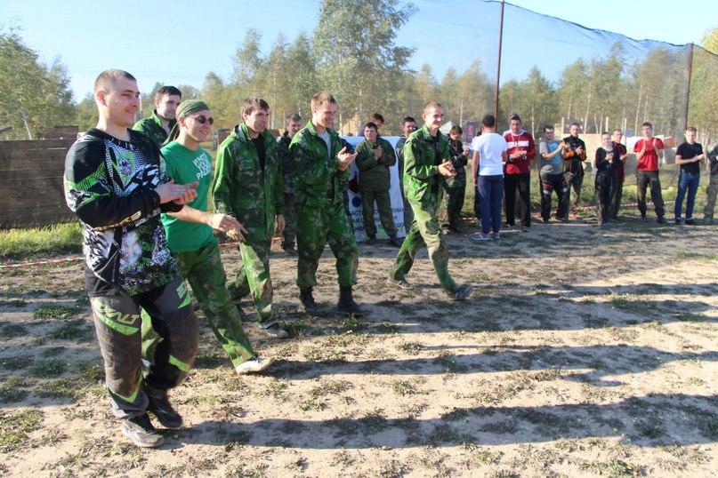 пейнтбольный клуб Патриот участвует в Ивановском турнире