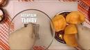 Видеорецепт как приготовить тыквенные блинчики с брынзой 6