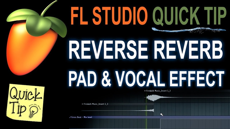 How To Make A Reverse Reverb Effect In FL Studio
