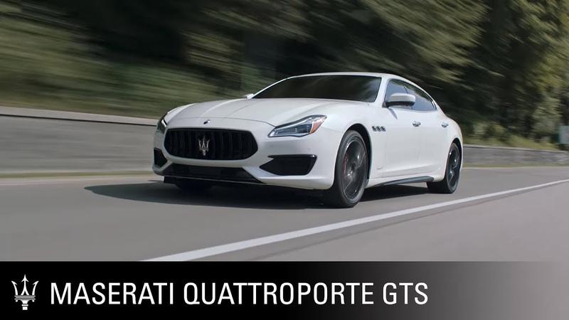 Maserati Quattroporte GTS. A legendary performance.