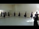 Зачет по народно-сценическому и русскому танцу