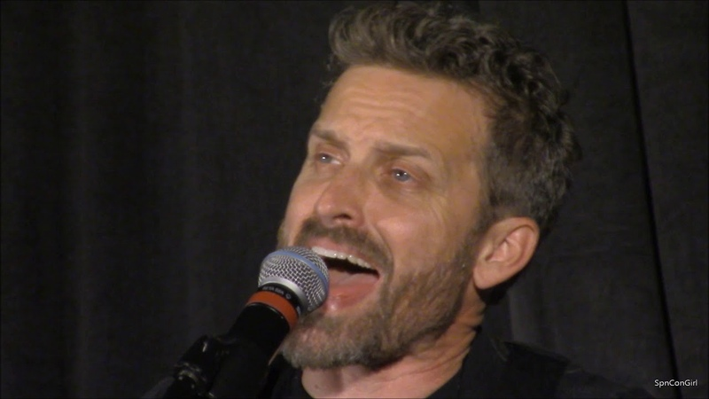 NJCon 2018 Saturday Night Special Rob Benedict Louden Swain and Friends Supernatural mp4 wlmp
