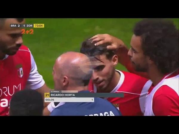 Braga vs Zorya 2-2 - All Goals Highlights | Resumen - 16082018 HD