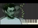 Куплинов - Супермегахит 55x55 Piano Tutorial Synthesia