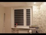 Рулонные шторы UNI2 Зебра ткань Монтана от Срочно Жалюзи
