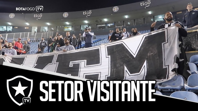 Setor Visitante | Porto Alegre e Paraguai