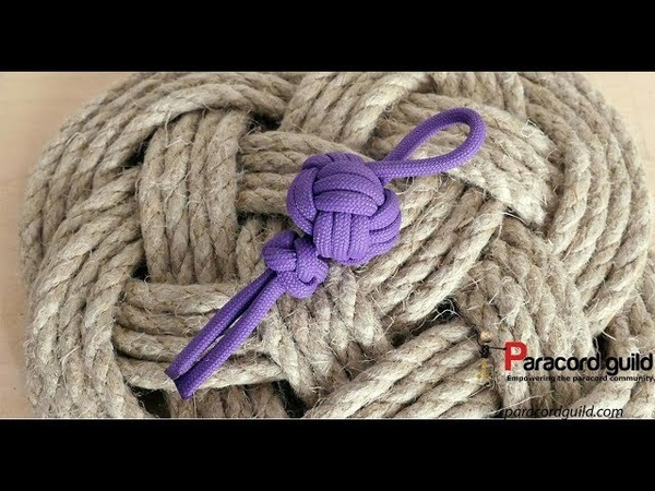 Turk's head paracord key fob