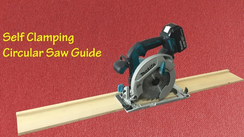 Making a Self Clamping Circular Saw Guide Kendinden Yapışkanlı Kesim Kılavuzu