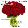 Доставка цветов и букетов от WWW.BONPION.RU