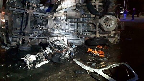 Фатальная мото авария в Георгиевске: столкнулись мотоцикл и скорая