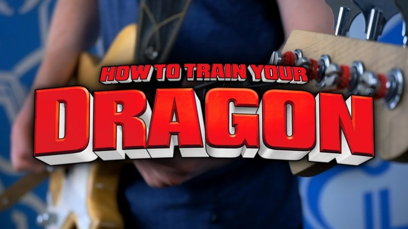 How To Train Your Dragon Theme on Guitar