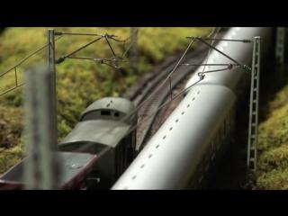 model tren // модель поезда almanya