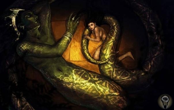 Загадка Мирового Змея. Пожалуй, именно змеи вызывают у нас самые противоречивые чувства: и страх, и омерзение - и порой едва ли не священный трепет... Ну, скажите на милость, отчего именно змея