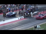 Birdman vs Plan B Turbo Corvette Door Flying at Colorado No Prep Kings