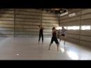 Репетиция спектакля Монстр / Sharon Vazanna dance company / Israel
