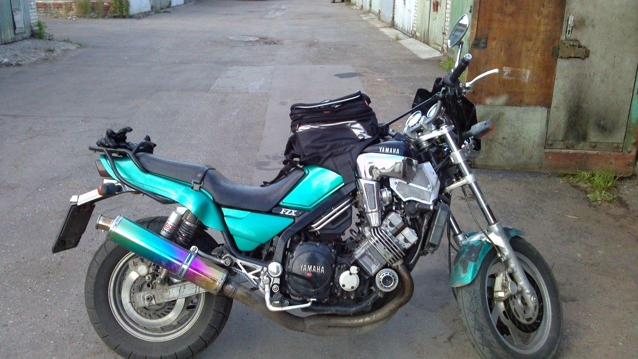 Fzx 750 тюнинг фото