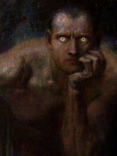 Картина «Люцифер», 1890 год.