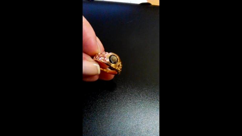 кольцо 585 проба вес 5 52