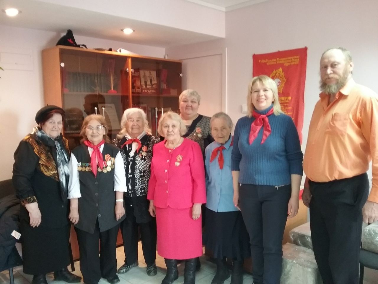 В Салехарде прошла встреча ветеранов пионерского движения