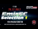 29.12.2017 года организация EMIR FIGHTING CHAMPIOSHIP