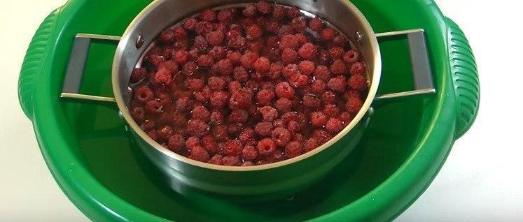Варенье из малины пятиминутка Ингредиенты сахар – 1,5