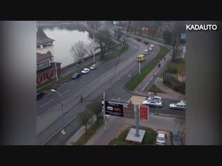 Кортеж патриарха Кирилла в Калининграде. 24.11.18
